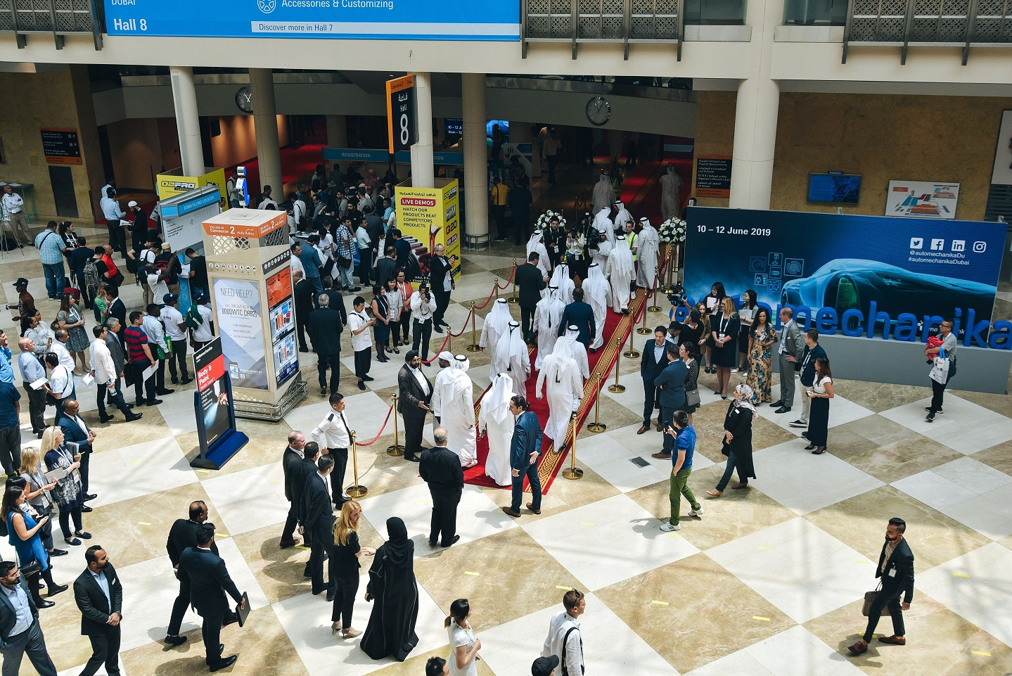 Automechanika Dubai 2019 Opens Featuring 1 880 Exhibitors From 63 Countries Autoworlddergisi